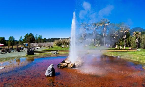 Natural Wonders at Roman Spa Hot Springs Resort, California