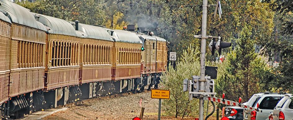 Are children allowed on the Napa Valley Wine Train?