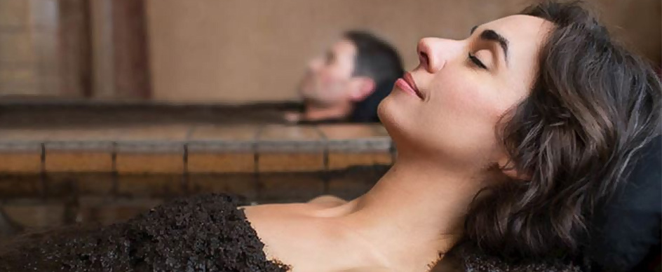 Does your spa also utilize the natural mineral water?