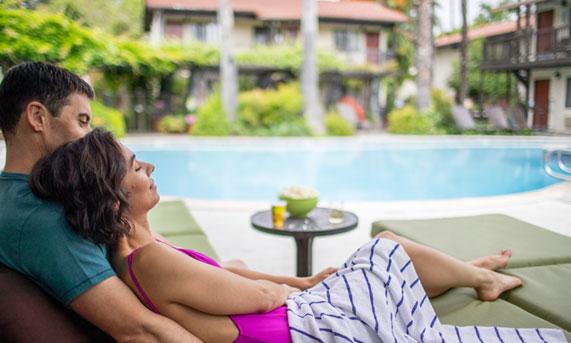 Romantic Weekend Getaway of Roman Spa Hot Springs Resort, California