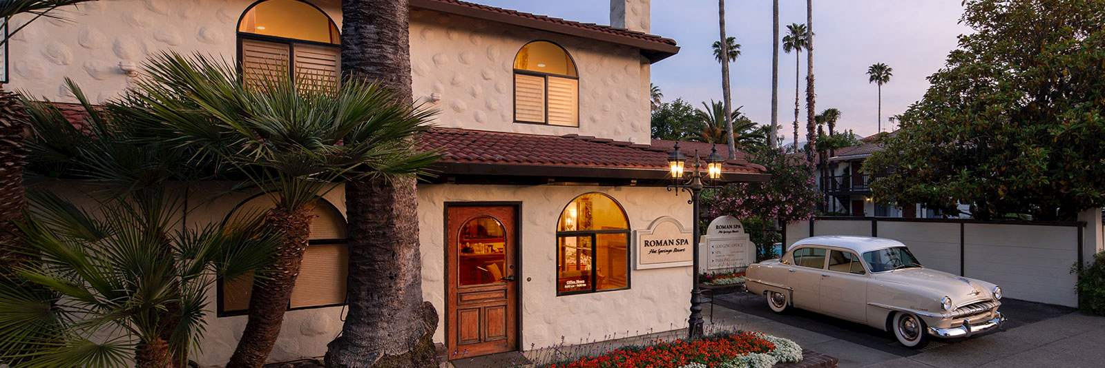 Roman Spa Hot Springs Resort in California