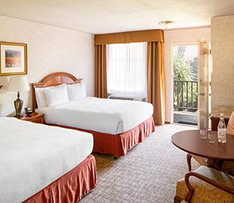 Classico Rooms in Roman Spa Hot Springs Resort, Calistoga