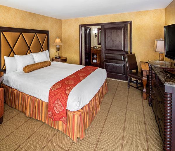 Superiore Rooms in Roman Spa Hot Springs Resort, Calistoga