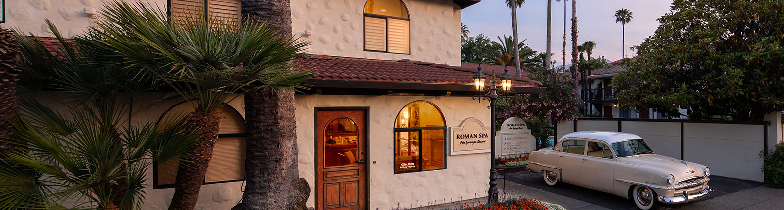 Location of Roman Spa Hot Springs Resort, California