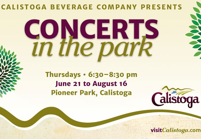 Calistoga Concerts in the Park