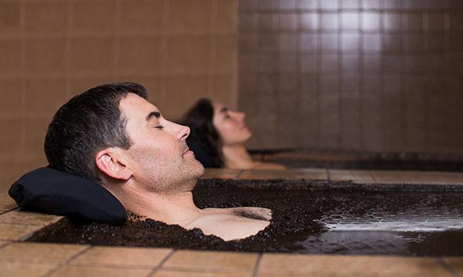 Spa of Roman Spa Hot Springs Resort California