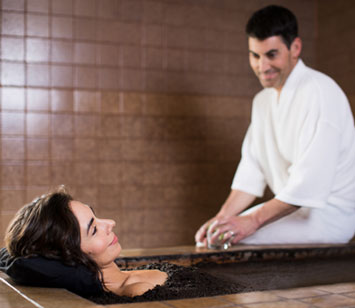 Baths at Roman Spa Resort, California