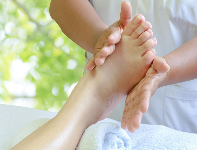 Foot Refresher of California Resort