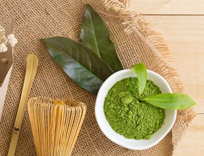 Green Tea Mask of Calistoga Resort