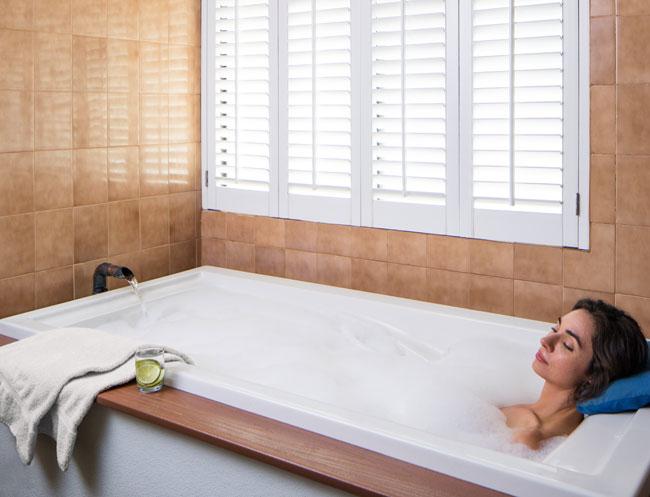 Mineral Bath in California Resort