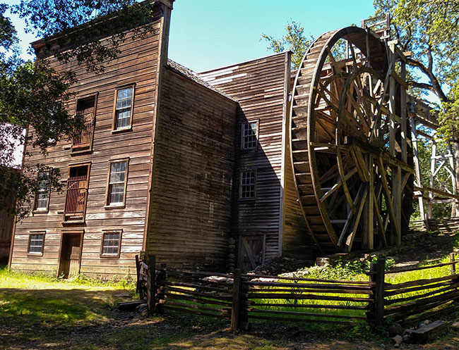 Bale Grist Mill State Historic Park in Calistoga