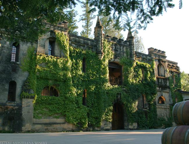 Chateau Montelena at Calistoga