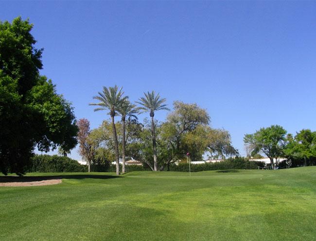 Hidden Valley Lake Golf Course in Calistoga