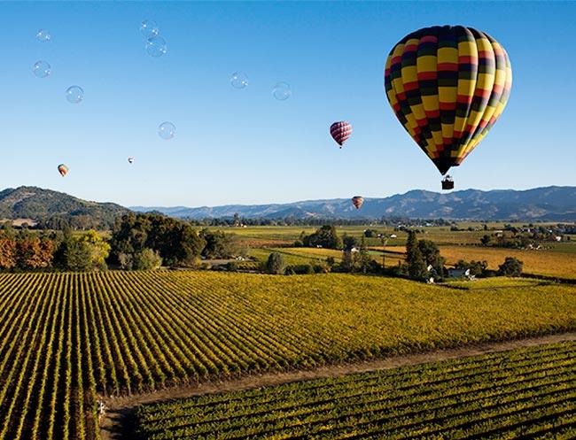 Hot Air Balloon Rides in California