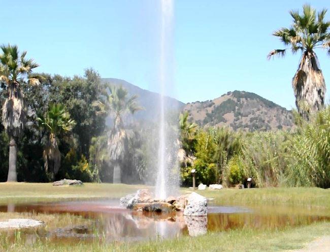 Old Faithful Geyser at Resort, California