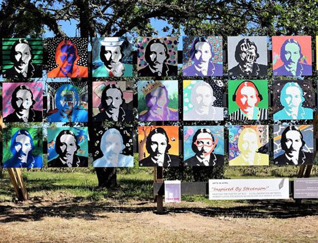 Robert Louis Stevenson at Calistoga