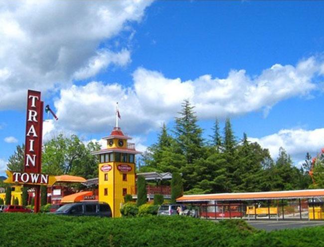 Train Town at Calistoga