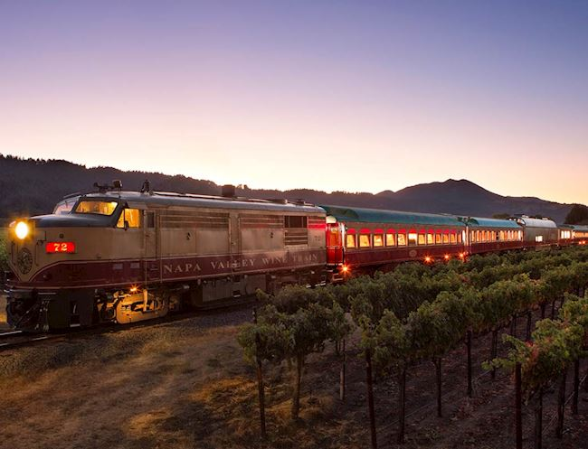 Napa Wine Train of Resort, California